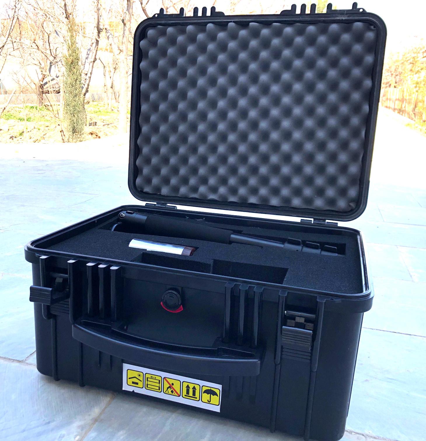 تصویر اسپکتروسکوپی قابل حمل مدل NT-125